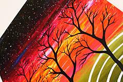 Obrazy - Nebo plné hviezd (obraz na plátne) - 11765203_