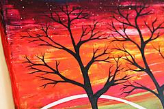 Obrazy - Nebo plné hviezd (obraz na plátne) - 11765204_