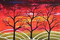 Obrazy - Nebo plné hviezd (obraz na plátne) - 11765205_