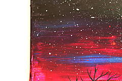Obrazy - Nebo plné hviezd (obraz na plátne) - 11765207_