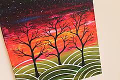 Obrazy - Nebo plné hviezd (obraz na plátne) - 11765268_