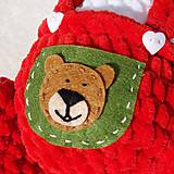 Hračky - Háčkovaný medvedík Izidor - 11765860_