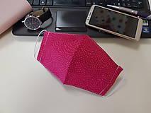 Rúška - Dámske rúško dizajnové  - Cherry - 11764653_