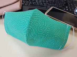 Rúška - Dámske rúško dizajnove - Green - 11764573_
