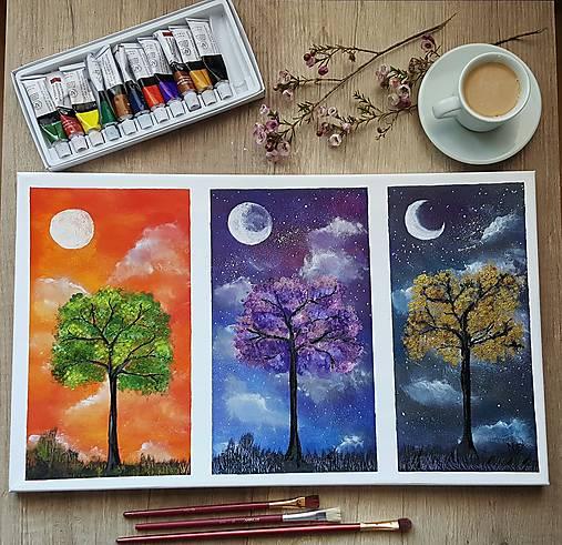 Tri sestry- maľba akvarelom