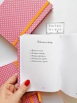 Papiernictvo - SVADOBNÝ PLÁNOVAČ (nápis na želanie) - 11767691_