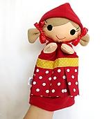 Maňuška dievčatko - Červená čiapočka