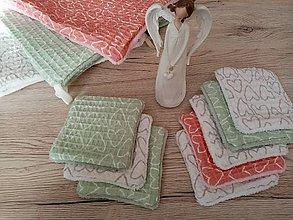 Úžitkový textil - Odličovacie vankúšiky - limitovaná edícia - 11769187_