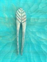 Iné šperky - Drevená ihlica do vlasov  - 11767474_