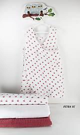 Mušelínové šaty detské - ČEREŠNE
