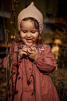 Detské čiapky - Čepiec Nina - 11768527_