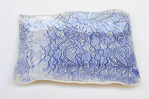 tácka v obdĺžnikovom tvare (Modrá)