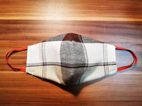 Rúška - Ochranné rúško z antibakteriálnej bavlny - 11767627_