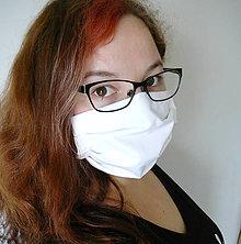 Rúška - Ochranné rúško na tvár - dvojvrstvové - skladom - 11769513_