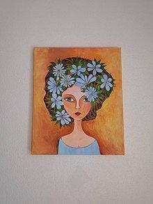 Obrazy - Nová jar, akryl, 25 x 30 cm - 11770835_