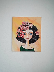 Obrazy - Jarka, akryl, 25 x 30 cm - 11770851_