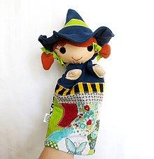 Hračky - Maňuška čarodejnica - Čarodejnica od Motýlieho hája - 11772416_