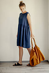 Šaty - Ľanové šaty Rio - 11772213_