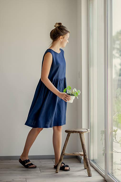Šaty - Ľanové šaty Rio - 11772205_