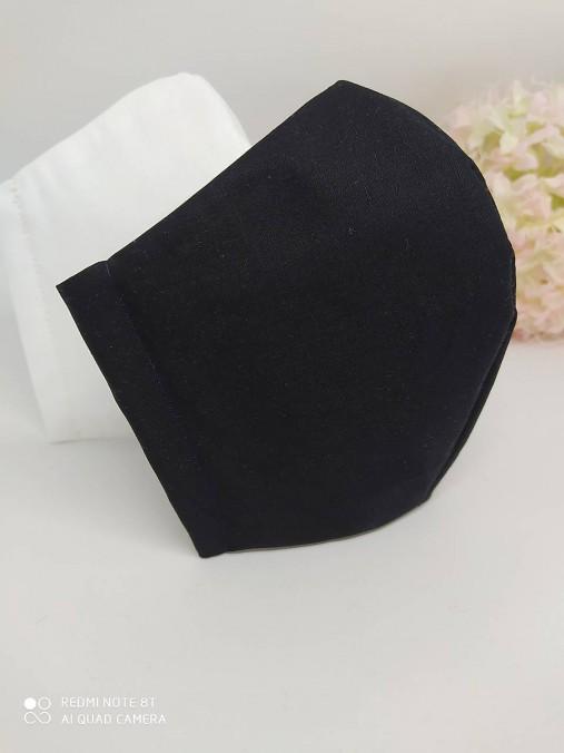 Rúško čierne