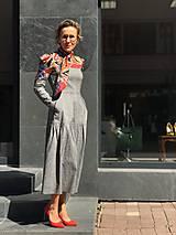Šaty - Šaty v prériovom štýle - 11773195_