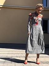 Šaty - Šaty v prériovom štýle - 11773199_