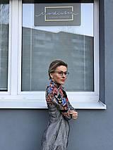 Šaty - Šaty v prériovom štýle - 11773205_
