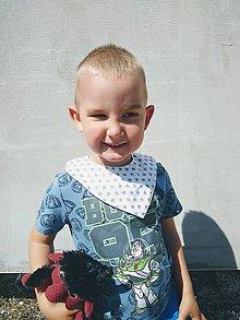 Detské doplnky - Set troch nákrčníkov - 11777321_