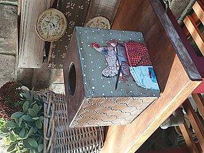 Krabičky - Zásobník na servítky - 11775735_
