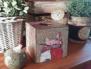 Krabičky - Zásobník na servítky - 11775757_