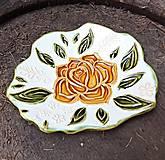 Svietidlá a sviečky - Svietnik s ružou - 11774810_