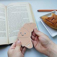 Papiernictvo - Croissantík do knižky... - 11776148_