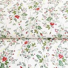 Textil - lúčne kvety, 100 % predzrážaná bavlna  Španielsko, šírka 150 cm - 11776129_