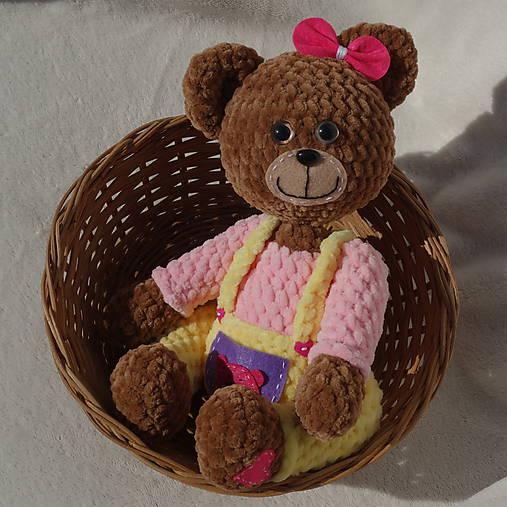 Háčkovaná medvedica - Princeznička