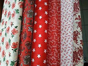Textil - Látky ladené do červena - 11775152_
