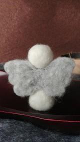 Dekorácie - Sada 3 anjelikov - 11776965_