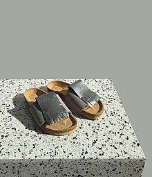 Obuv - Korkáče Grey Metal - 11780585_
