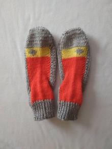 Obuv - Ponožky - štvorček - 11781839_