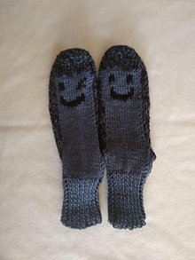 Obuv - Ponožky - smajlik - 11783516_