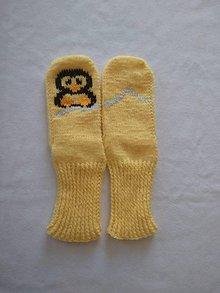 Obuv - Ponožky - tučniačik - 11784081_