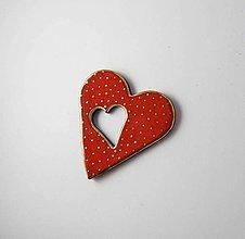 Odznaky/Brošne - TANA hand made jewellery - keramika/zlato - 11783142_
