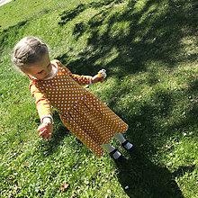 Detské oblečenie - Bodka sem bodka tam - 11781808_
