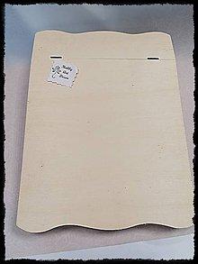 Polotovary - Krabica na listy - 11784519_