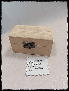 Polotovary - Krabička mini - 11784572_