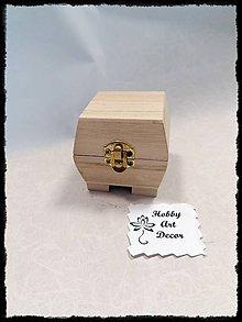 Polotovary - Krabička mini - 11784602_