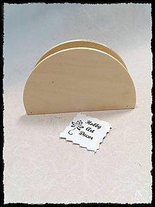 Polotovary - Držiak na servítky - 11784699_