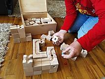 Hračky - Kocky a guľky ( Guľôčková hra) - 11786728_