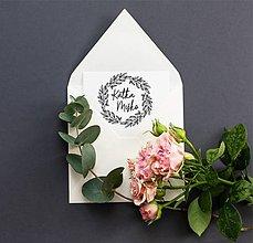 Papiernictvo - Svadobná pečiatka 147 - 11785248_