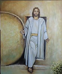 Obrazy - Kristus víťaz... - 11785155_