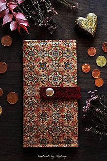 Peňaženky - Korková peňaženka - 11786218_